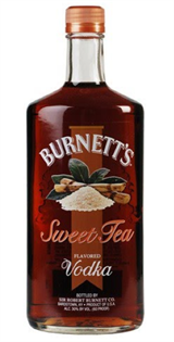 Burnett's Vodka Sweet Tea 750ml - Case of 12